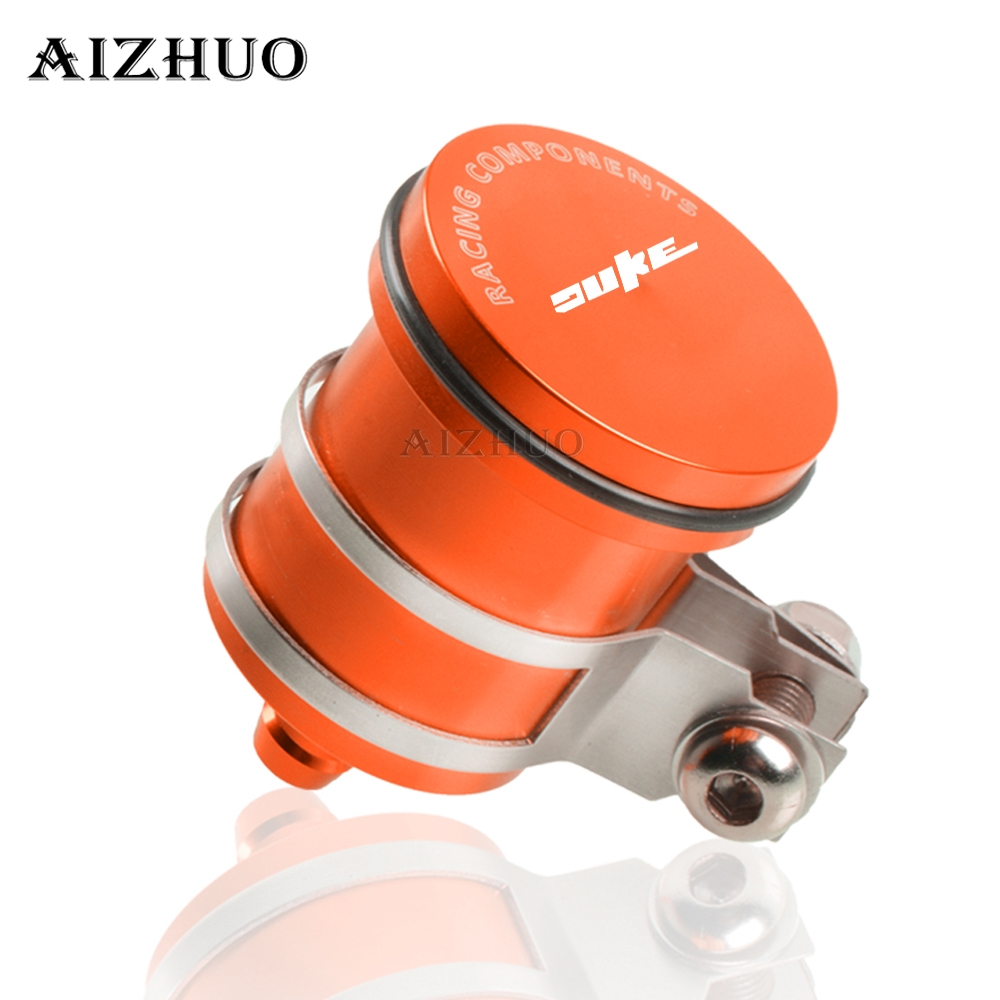 Motorcycle Rear Brake Fluid Reservoir Clutch Tank Oil Fluid Cup For KTM DUKE 200 125 390 690Duke 2011 2012 2013 2014 15 16 17 18 image