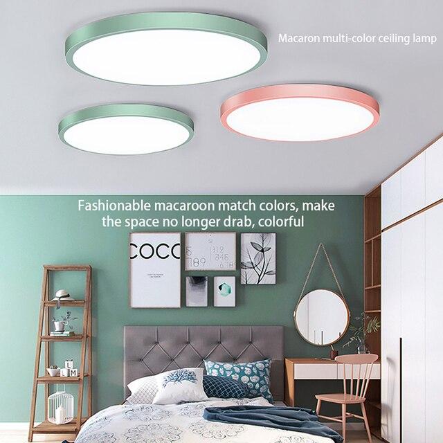 30W โคมไฟเพดาน LED Flush Mount โคมไฟเพดาน 30 วัตต์ 6000K Cool สีขาวโคมไฟห้องครัวห้องโถงห้องน้ำ