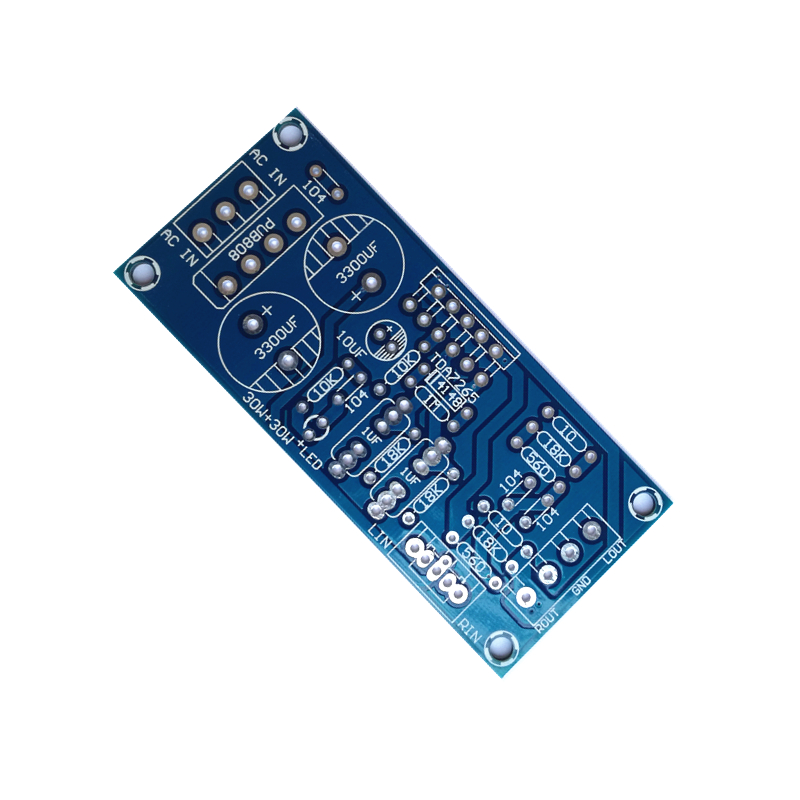 TDA7265 Power Amplifier Board Two-channel PCB Does Not Contain Any Components
