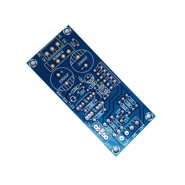 TDA7265 مكبر كهربائي مجلس ثنائي القناة ثنائي الفينيل متعدد الكلور لا يحتوي على أي مكونات