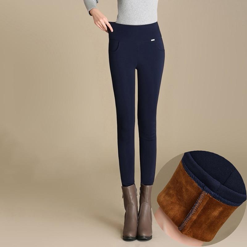 RIMIUT Big Plus Size S 4XL Women Autumn Winter Velvet Warm Leggings High Quality Fat MM Elastic Candy Colors Pants Legging in Leggings from Women 39 s Clothing