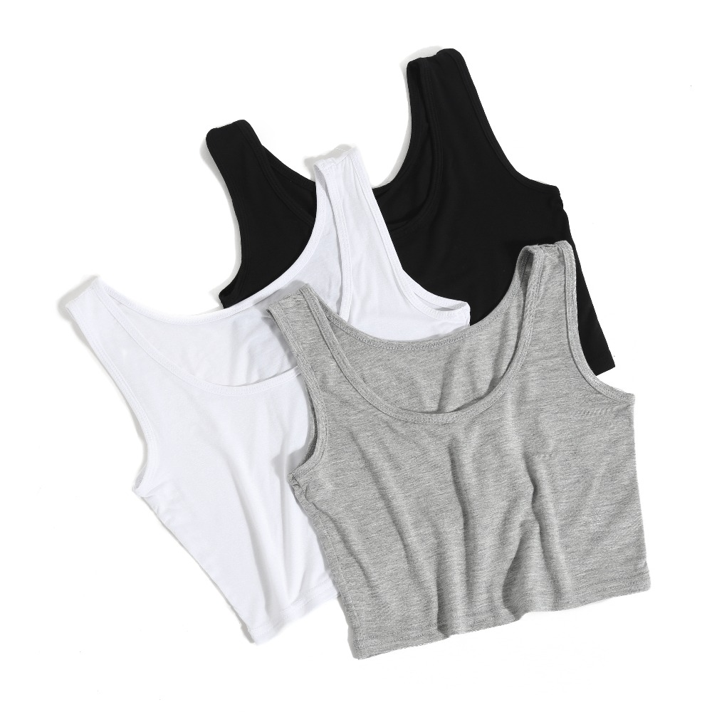2019 neue Weibliche Frauen Sexy Crop <font><b>Top</b></font> Damen Ärmelloses <font><b>Tank</b></font> <font><b>Tops</b></font> <font><b>T</b></font> <font><b>Shirt</b></font> <font><b>T</b></font> Kurze halter <font><b>Tops</b></font> Mode Sommer Grundlegende stretch <font><b>Tops</b></font> image