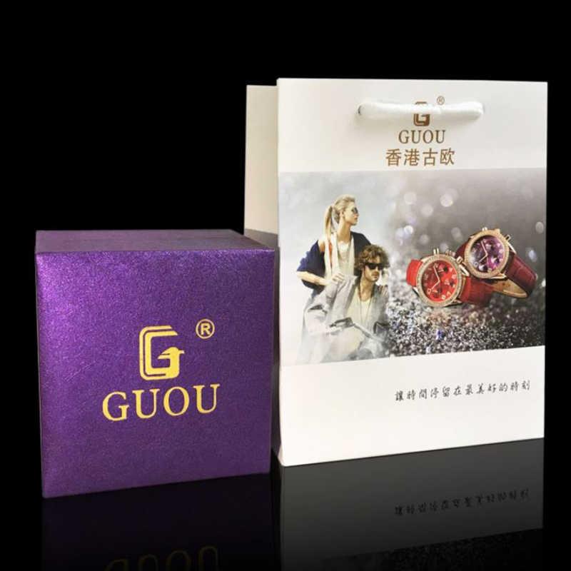 GUOU 100% original montre boîte Top marque de luxe montre-bracelet boîtes cadeau boîtes