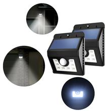 1Pcs Solar Light 8LED Human body Induction Control Energy Street Garden