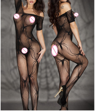 Sexy Lingerie hot Bodysuit Sexy Costumes Intimates Women Bodystocking open crotch sex products erotic lingerie Chemises qq066