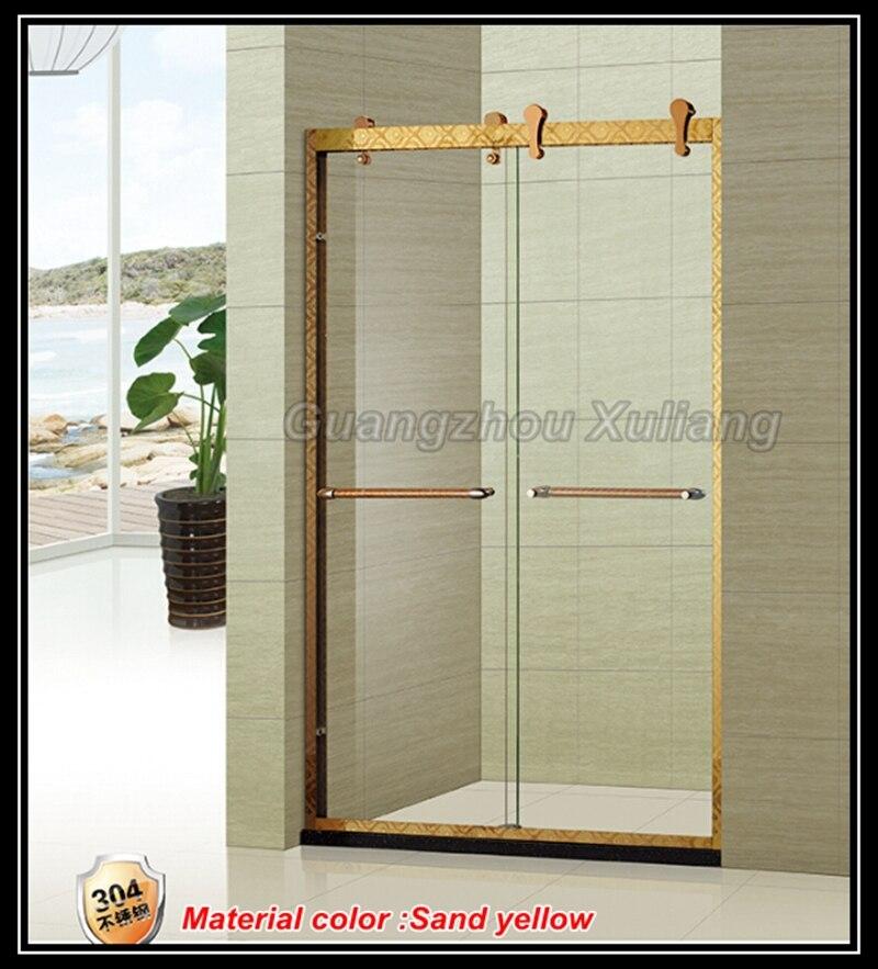 Correderas cristal sin marco puertas de ducha para baño en Puertas ...