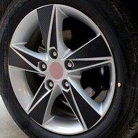 Carbon Fiber Avante Logo 16 Inch Wheel Rim Sticker Wheel Hub Waterproof Sticker For Chevrolet Avante