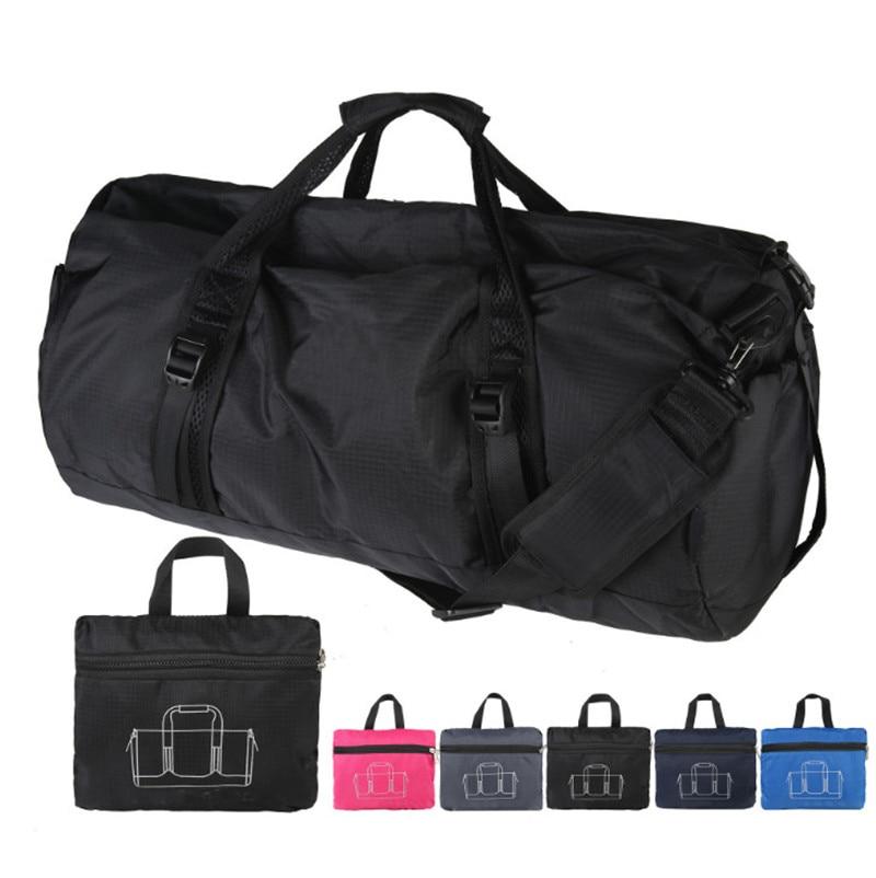 Fitness-Bag Sports-Handbag Single-Shoulder-Bag Waterproof 40L Messenger Folding