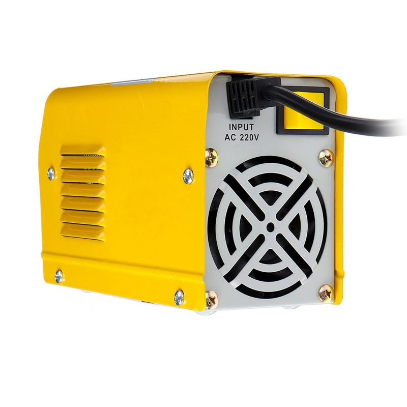 ZX7-200 220V Mini 20A-200A Elektrische Schweißen Maschine IGBT DC Inverter ARC Schweißen-schweißer Gelb