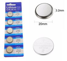 200pcs/40card 100pcsC R2032 +100pcs CR2025 3V Cell Battery Button  cr 2032 lithium battery For Watches,clocks