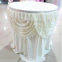 אישית חצאית טוטו טול כלי שולחן 100*80 ס