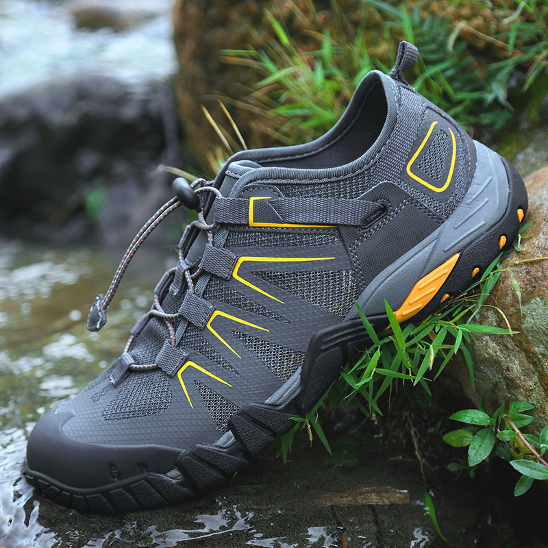 Été hommes randonnée chaussures d'eau Aqua Wading chaussures de natation en plein air à séchage rapide chaussures d'eau de plage chaussures de Sport