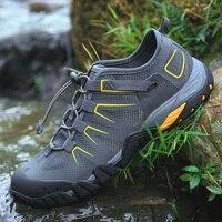 Летняя мужская походная обувь для плавания, быстросохнущая обувь для плавания, Пляжная спортивная обувь