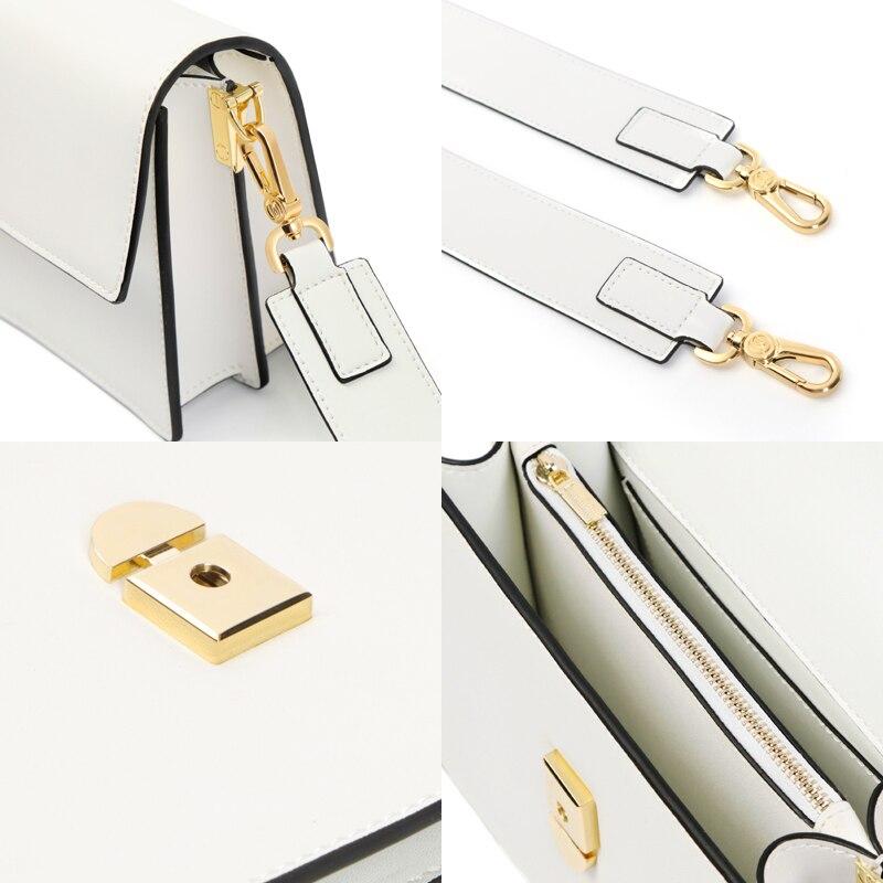 EIMORE Handbags Women Bag 2019 Leather Luxury Crossbody Bag for women Designer Ladies Shoulder Bag Women Messenger Bag in Top Handle Bags from Luggage Bags