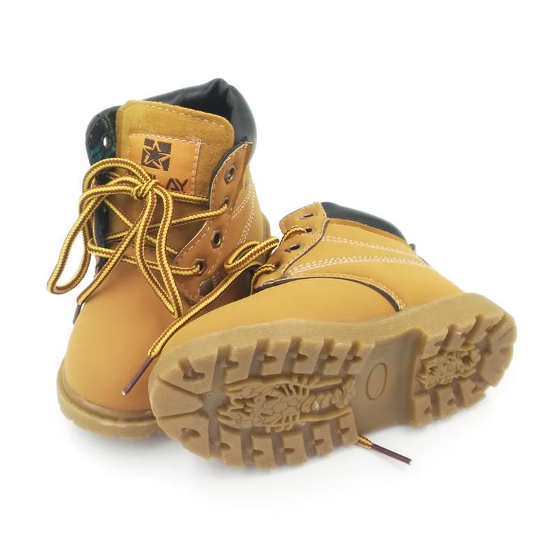 NUEVO 2016 niños de primavera Martin botas niños zapatos casuales - Zapatos de bebé - foto 4