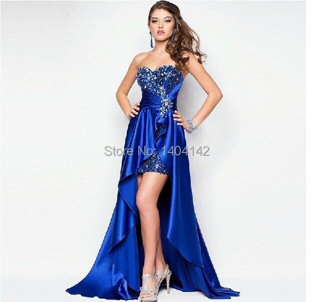 Vestido longo azul royal onde comprar