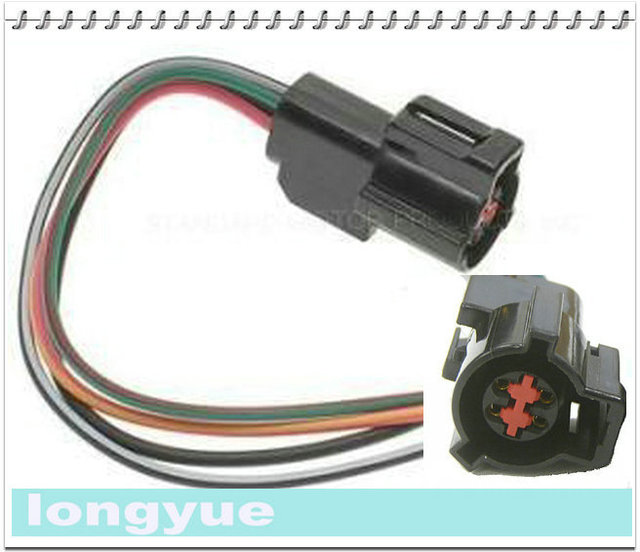 longyue 2pcs for ford exhaust oxygen sensor harness pig tail rh aliexpress com Auto Wiring Harness Connectors Auto Wiring Harness Connectors