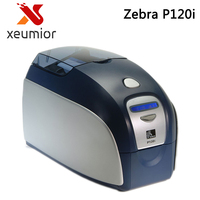 New Original Zebra P120i Dual Side Printing ID Card Printer Desktop Zebra PVC Card Printers