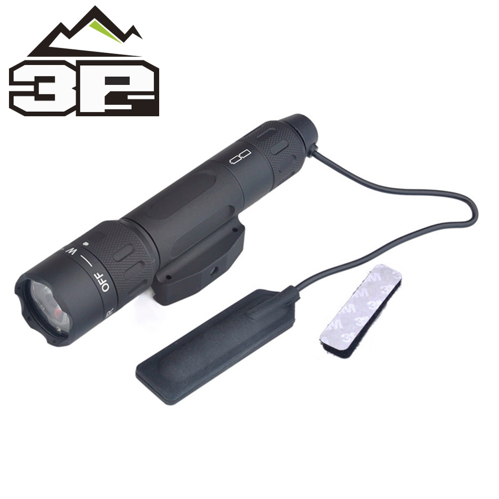 Night Evolution VBLIII WMX200 Tactical Weapon Light For Hunting Military Sports Airsoft IR Insigh Quick Mount