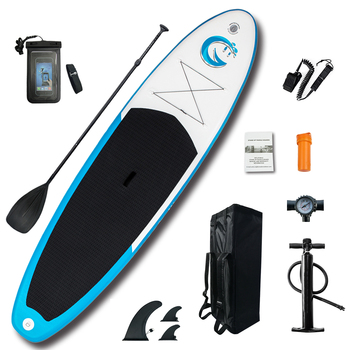Inflatable Stand Up Paddle Board Sup-Board Surfboard Kayak Surf set 11'x32''x6''with Backpack,leash,pump,waterproof bag high quality paddle board bag stand up paddle bag hot sale sup paddle bag paddle surf