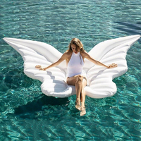 YUYU Hot 250cm Angel wing Float Swimming Float Inflatable Swimming ring butterfly Pool Float Tube Swimming Ring Summer Water Toy