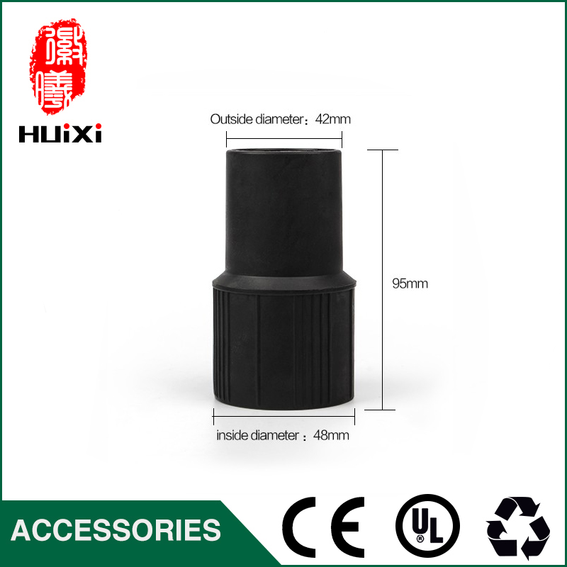 Inner diameter 38mm PP Plastic Connector, fast connector With Good Quality For Accessories Idustrial Vacuum Cleaner vacuum cleaner pp plastic connector with good quality for accessories of idustrial vacuum cleaner