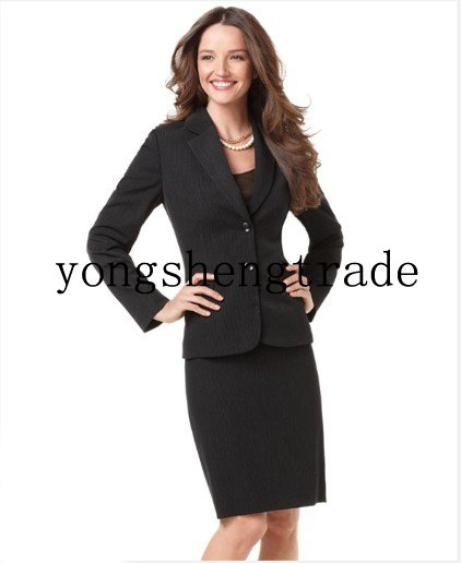 Online Shop Black Women Suit Women Clothing Suits For Women Women ...