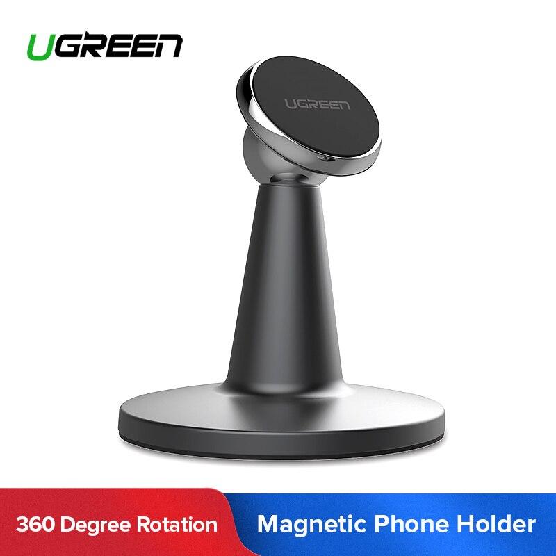 Ugreen Titular Suporte Do Telefone 360 Graus de Rotação Magnética Desk Suporte Suporte Do Telefone Móvel para Xiaomi Tablet iPad iPhone Air 7 6 6 s 5