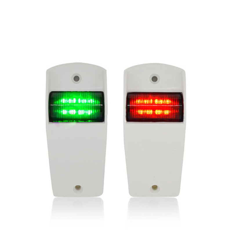 Image 2 - 1Set 12V Marine Boat Yacht Navigation Light Red Green Port Starboard Light Sailing Signal Lamp-in Marine Hardware from Automobiles & Motorcycles