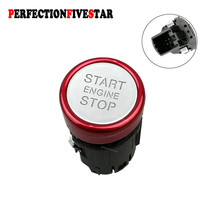 4G1905217A For AUDI A6 C7 2011 2012 2013 2014 2015 2016 A7 RS6 RS7 2014 2015 2016 Chrome Engine Start Stop Switch Push Button