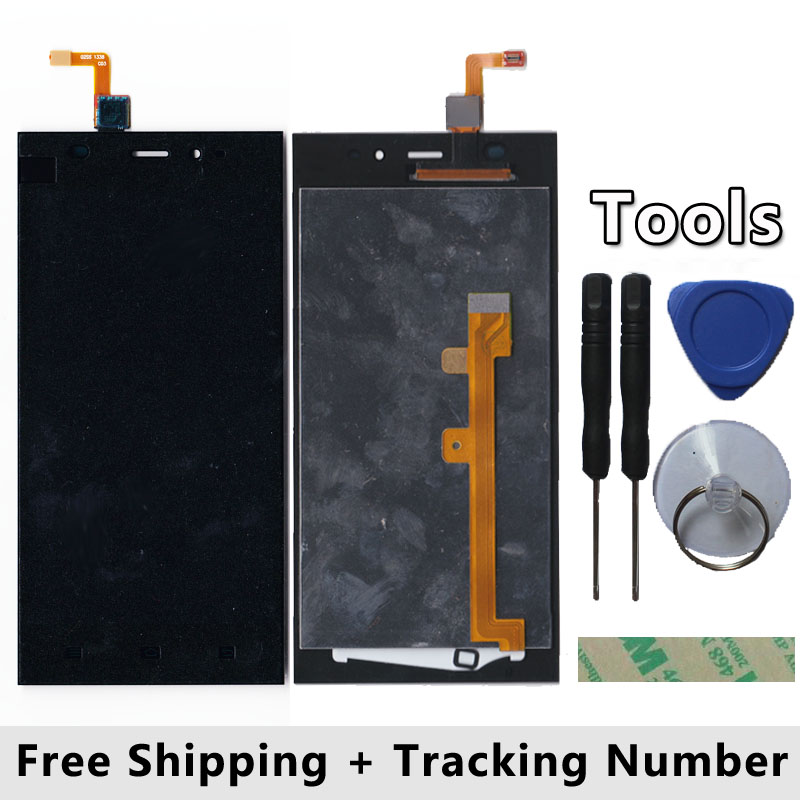LCD Display + Touch Screen Digitizer Glass Panel For xiaomi m3 mi3 + frame + Tool + Free Shipping