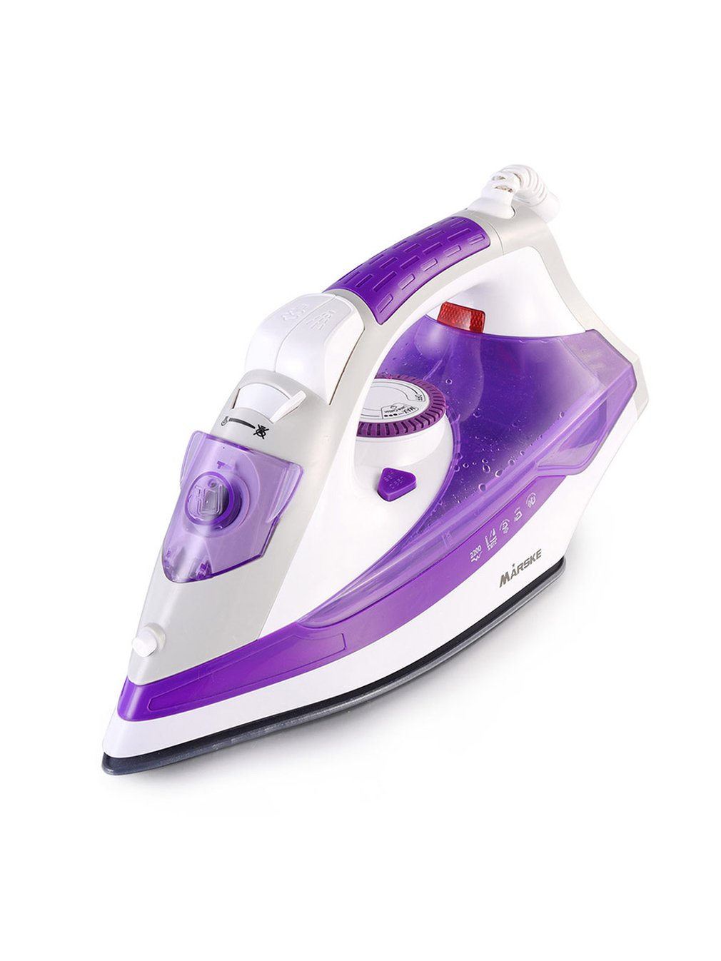 Electric Irons Steam Iron Ceramic Baseplate Steamer Portable Handheld Clothes For Travel Household Appliance|Electric Irons| |  - title=