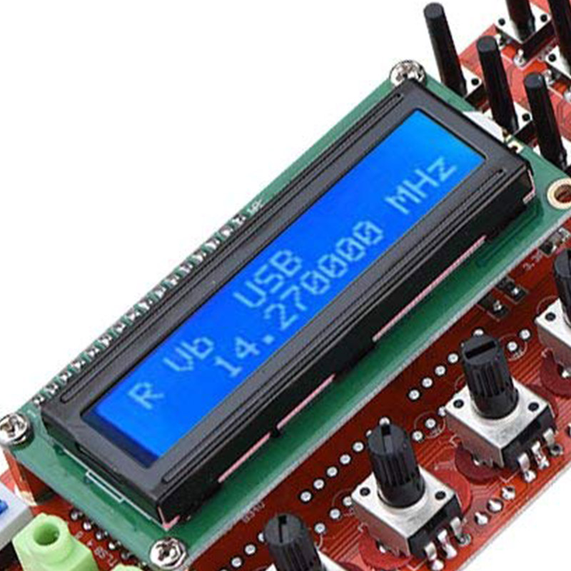 DIY KIT 0 55MHz LCD Display DDS Signal Generator Module Based AD9850