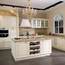 Кухонный шкаф из ПВХ/винила(LH-PV059