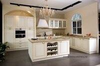 PVC/vinyl kitchen cabinet(LH PV059)