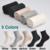 10 Pares/lote Mulheres Meias de Algodão Nova Marca 5 Cores Confortável Respirável de Alta Qualidade Durável Moda Estilo Mulher Meia Feminina