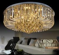 LED de Luz de la Sala Luz de Techo de Cristal Moderno Simple Dormitorio Restaurante lámparas de techo de Cristal de Lujo lámparas de iluminación led