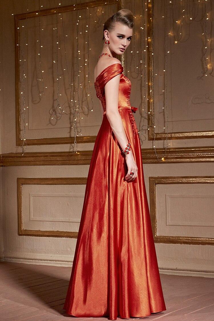 f75efd84888a CONIEFOX 30993 Orange Evening Gowns Sequins Vestido De Festa Floor Length  Long Wedding Party Dresses-in Evening Dresses from Weddings & Events on ...