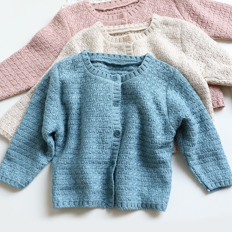 Spring Autumn Winter Baby Knitted Warm Cardigan Sweater Clothes Sweater Coat Long Sleeve OutwearSpring Autumn Winter Baby Knitted Warm Cardigan Sweater Clothes Sweater Coat Long Sleeve Outwear