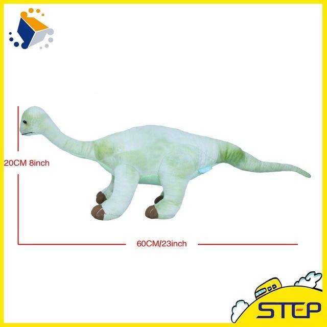 Envío libre 60*20 cm simulación dinosaurio gigante muñeco de peluche ...