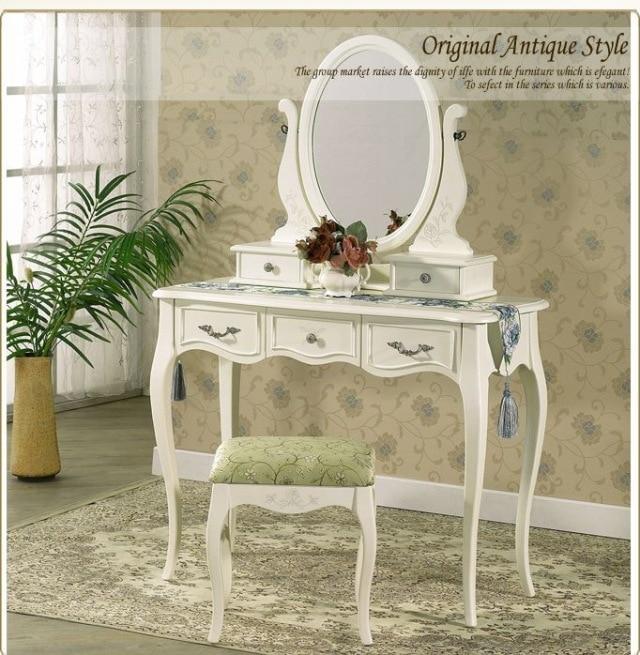 simple makeup vanity aliexpresscom buy queen anne white make up table dresser vanity