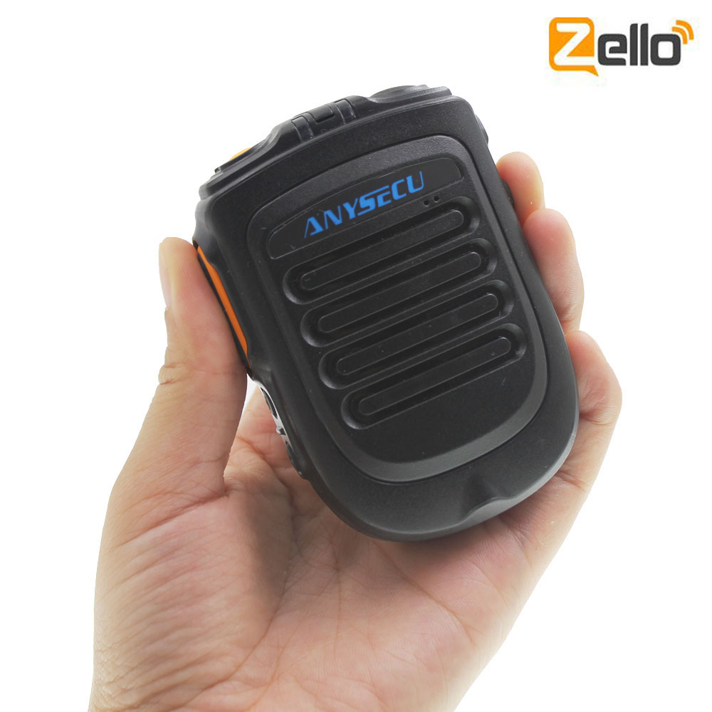2019 Bluetooth Wireless Speaker Microphone Zello Ptt Bluetooth for Android System 5 1 Version or above
