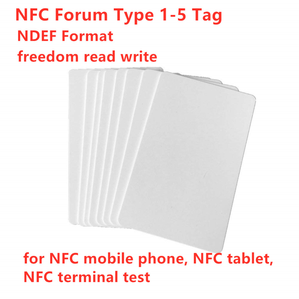NFC Forum Type 1-5 Tag With NDEF Format CTS Freedom Read Write NFC Full Tags For NFC Mobile Phone, NFC Tablet, NFC Terminal Test
