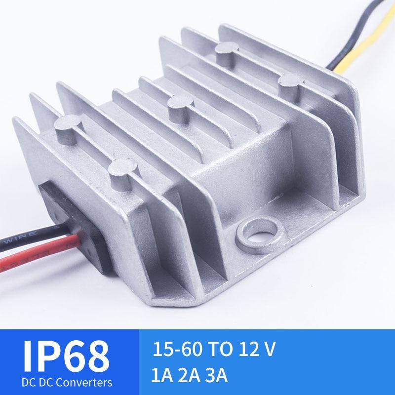 15V TO 60V 12V TO 5V 1A 2A 3A DC USB Converter Power Step LED CE RoHS Compliant15V TO 60V 12V TO 5V 1A 2A 3A DC USB Converter Power Step LED CE RoHS Compliant
