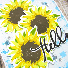 6X8inch Sunflower Leaf Transparent Clear Silicone Stamp/ For DIY Scrapbooking/Photo Album Decorative Card Making Stamp