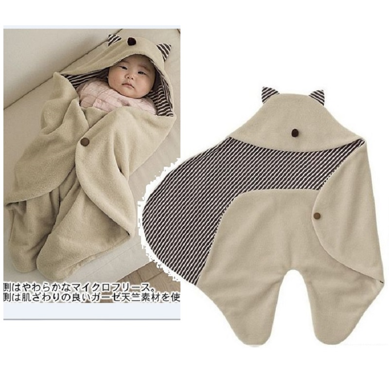Newborn Blanket Baby Wrap Envelope Bedding Swaddle Infant Sleep Bags Sleeping Sacks Children Quilt