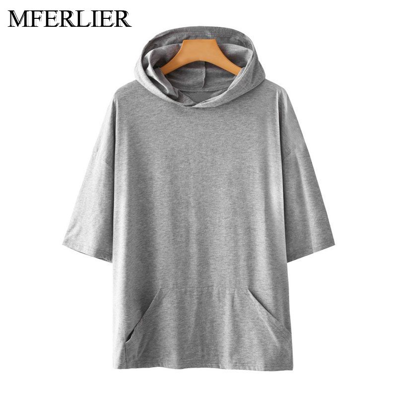 Spring Summer Men Hoodies 5XL 6XL 7XL 8XL 9XL Bust 140cm Plus Size Loose 3 Colors Large Size Sweatshirts Men