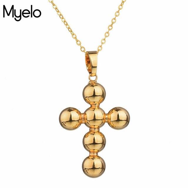 Religiöse Klassische Schmuck Gold Farbe Jesus Kreuz Kruzifix ...