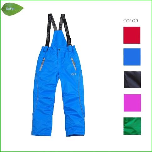 KP02 HIgh quality children snowboarding pants skiing pants winter outdoor pants skiing pants for children ...