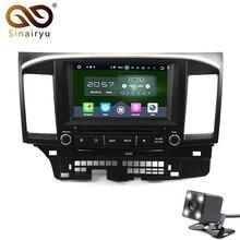 8 Core 6.0.1 Android Coche dvd GPS de radio estéreo para Mitsubishi Lancer ex Galant 10 Con WIFI BT Espejo Enlace de Radio DVD GPS